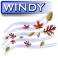 Mostly Cloudy/Wind